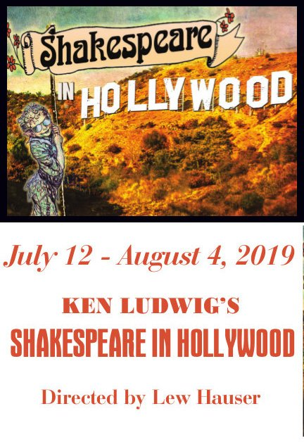 UP NEXT: #Opening July 12th #KenLudwig's SHAKESPEARE IN HOLLYWOOD Oberon and Puck invade Warner Bros. Studios and conquer with requisite hilarity! Directed by Lew Hauser #TICKETS-- http://bit.ly/2mfTeYZ                 #ABQTheatre #Stage #NMtheatre #ABQ #NMtrue #NM