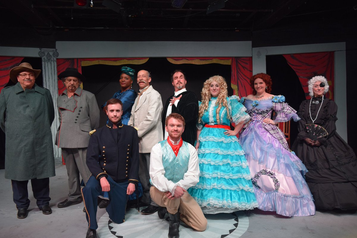 """Many Thanks and Congratulations to Mario Cabrera and his TARTUFFE team for a dose of """"... Pure Pleasure"""" #ABQTheatre #Stage #NMtheatre #Moliere #ABQ #NMtrue #NM"""
