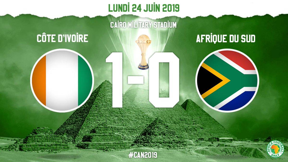 La Côte d'Ivoire domine l'Afrique du Sud