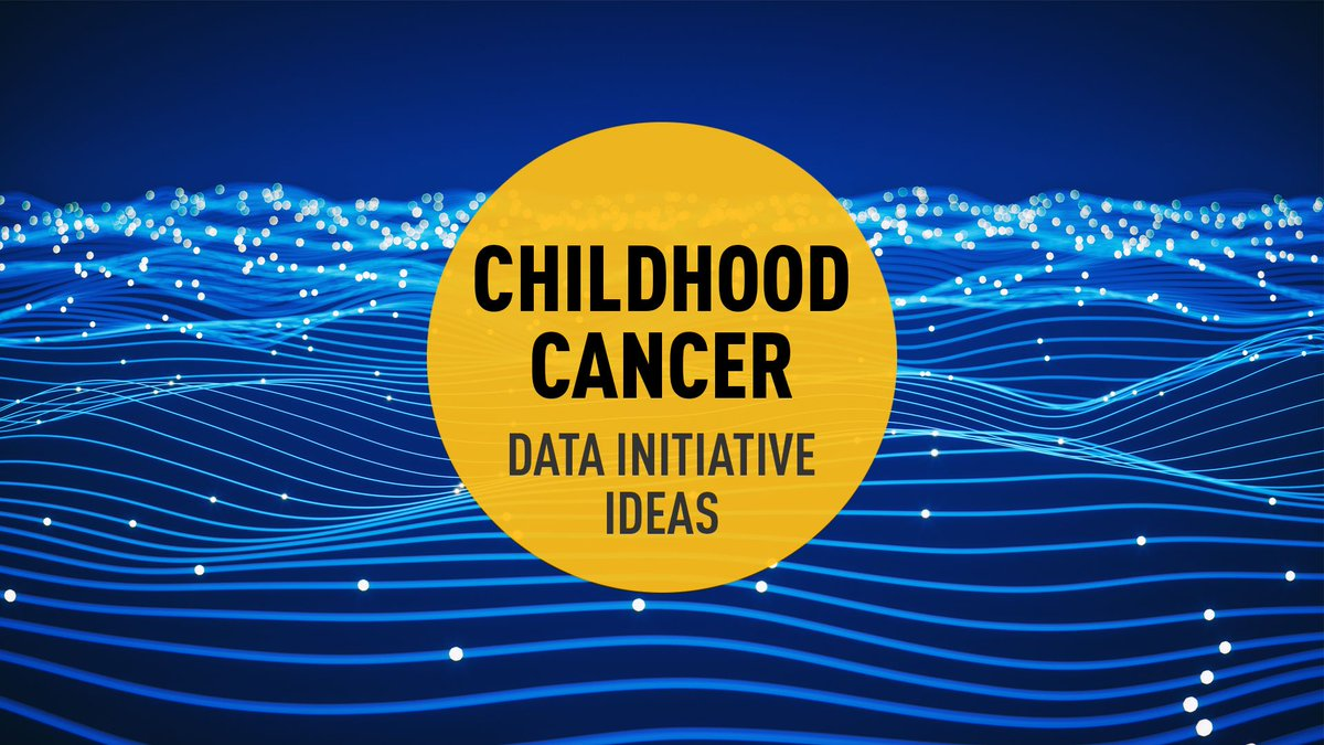 RT: @theNCI Share your research and #data sharing ideas to advance progress against #childhoodcancer via https://t.co/kFIkISIBtq