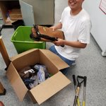 Lewis Marquez, good friend and first year pharmacology PhD student in the #QuaveLab, is packing up for his first #ethnobotany field collection @thejonesctr! He already looks like a seasoned expert!