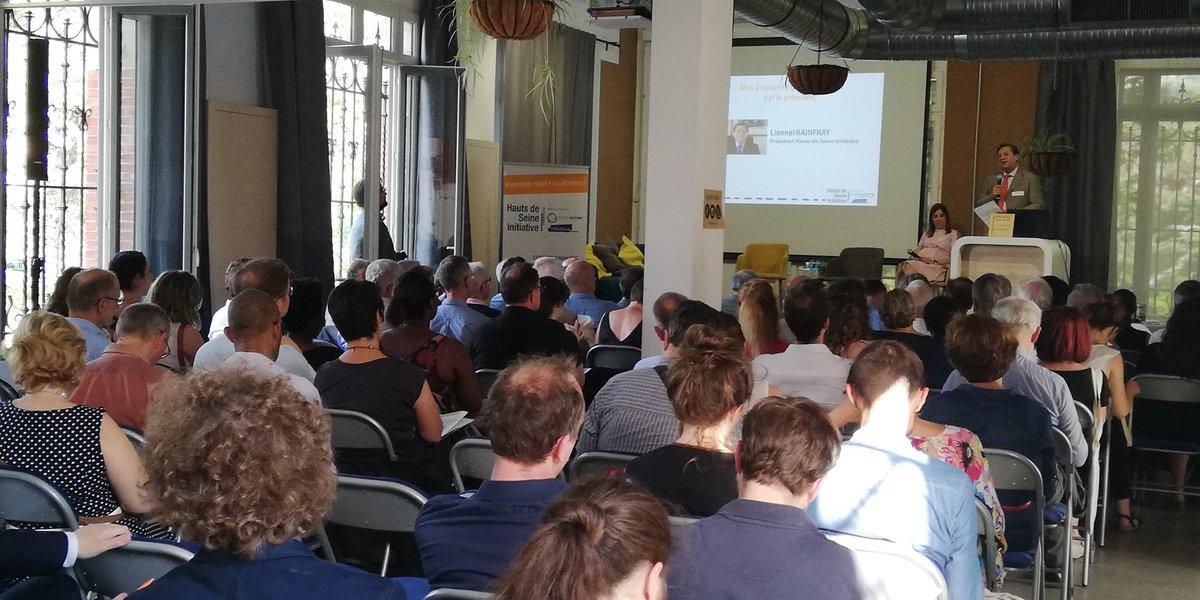 Assemblée générale d'HDSi : 20 ans au service des entrepreneurs des Hauts-de-Seine #entrepreneuriat #SocEnt #ESS #Emploi #HautsDeSeine #DLA