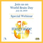 Image for the Tweet beginning: For #WorldBrainDay July 22, attend
