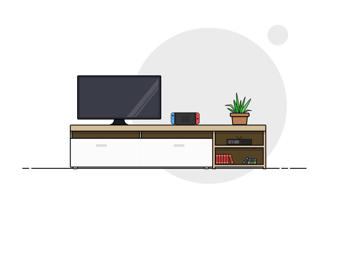 My lounge flat design — designed with @GravitDesigner  #illustration #flatdesign #graphicdesign