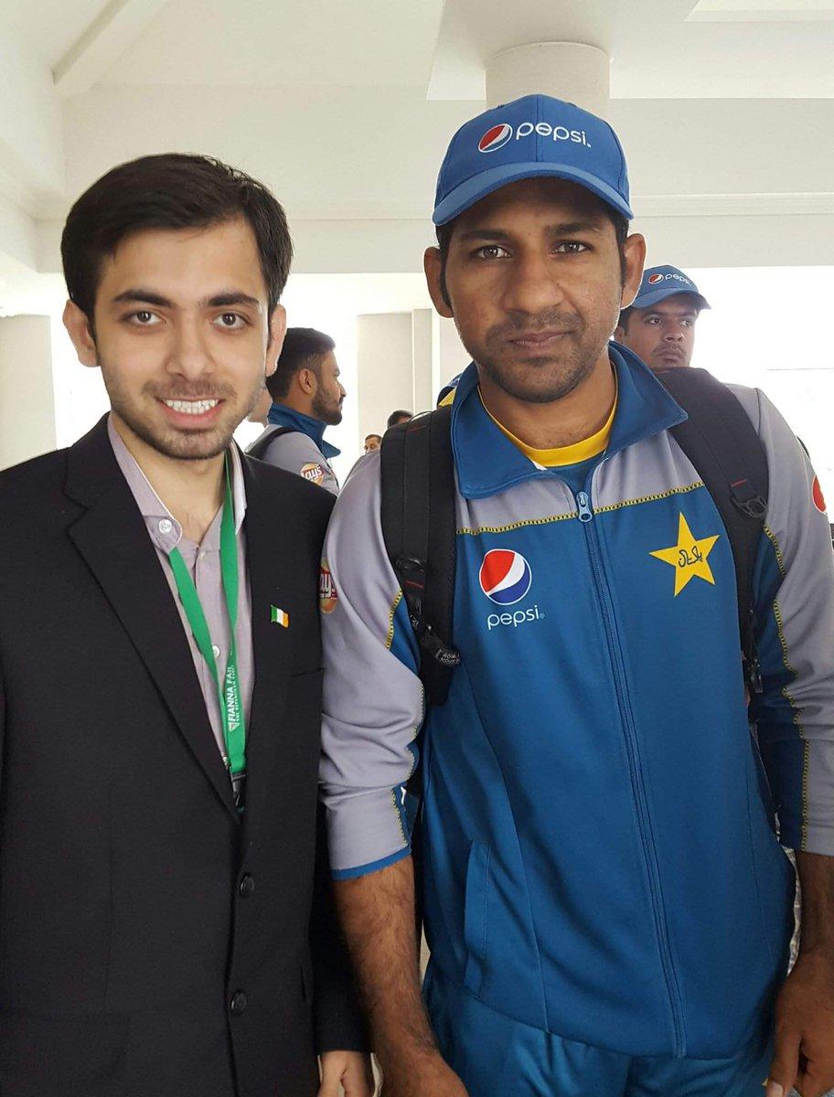 We are proud of you@SarfarazA_54 🇵🇰@ICC @cricketworldcup @TheRealPCB @ImranKhanPTI #WeHaveWeWill