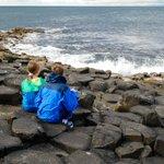 Image for the Tweet beginning: Exploring Northern Ireland's Antrim coast