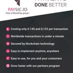 Image for the Tweet beginning: Presenting benefits of using Paysic-