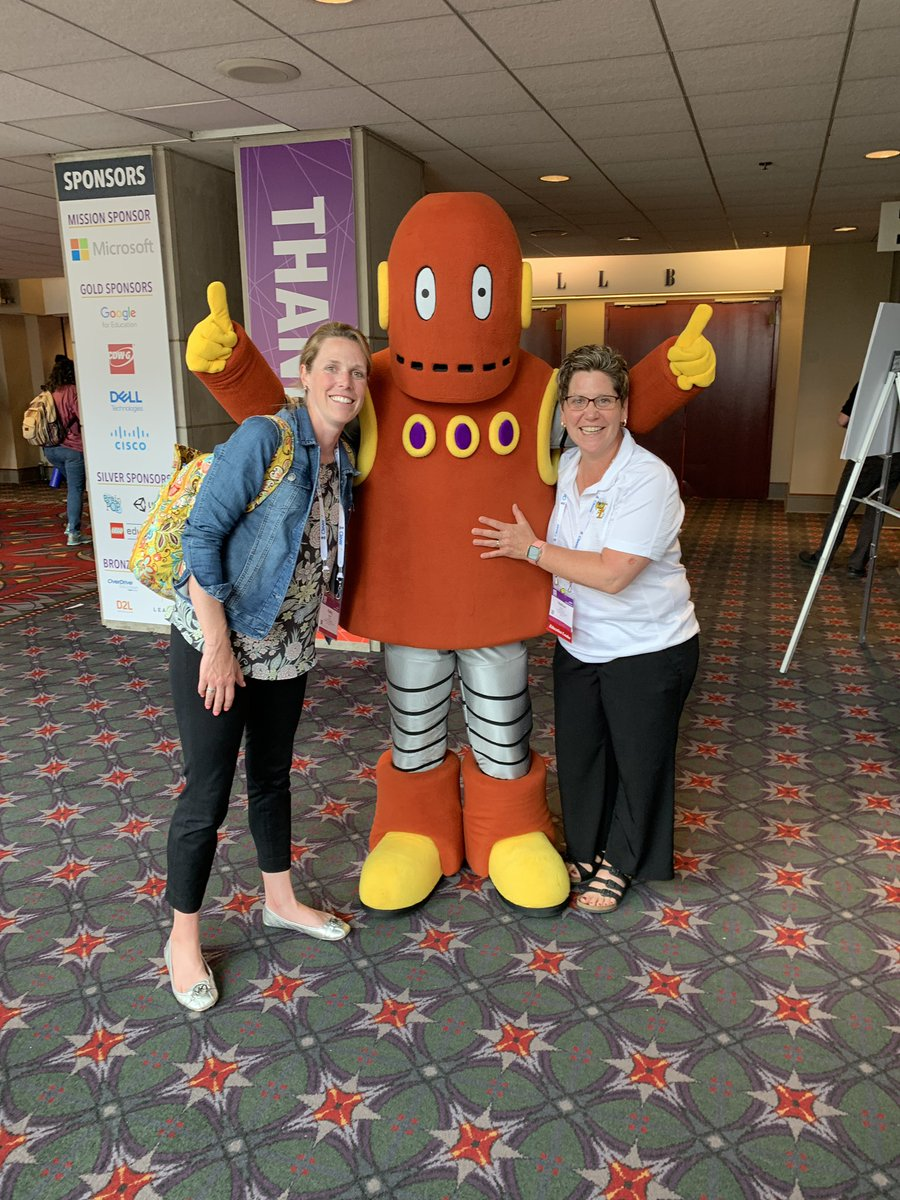 Making all kinds of connections @iste #ISTE2019 @brainpop @ezundel @rissellk @CommonSenseEd