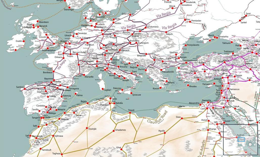 I cant stop staring at this map of Medieval trade route networks easyzoom.com/imageaccess/ec…