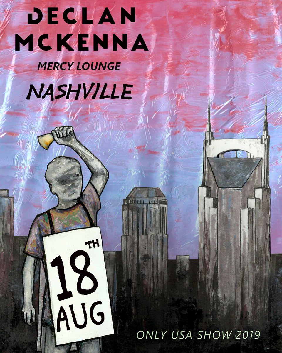 Nashville summer show tickets are on sale now https://www.ticketfly.com/purchase/mobile/index/1869772… poster by @franklyum  xx