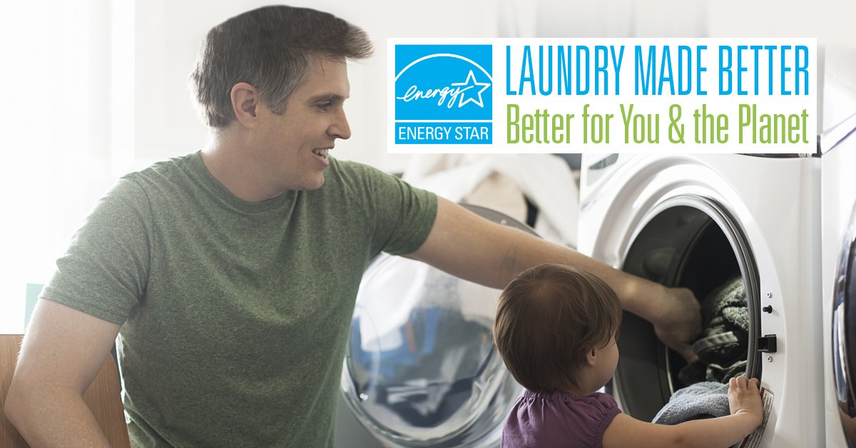 test Twitter Media - #EnergyTip Replace your old clothes dryer with an @ENERGYSTAR certified model. If all clothes dryers sold in the U.S. were ENERGY STAR certified, Americans would save more than $1.5 billion each year in energy costs and prevent 22 billion lbs of annual greenhouse gas emissions. https://t.co/2gcfLNuPSh