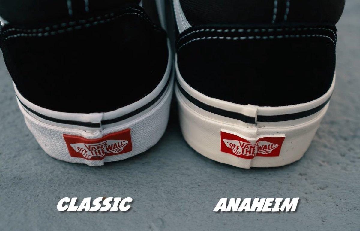 Fer On Twitter Perbedaan Sepatu Vans Old Skool Bw Japan Market