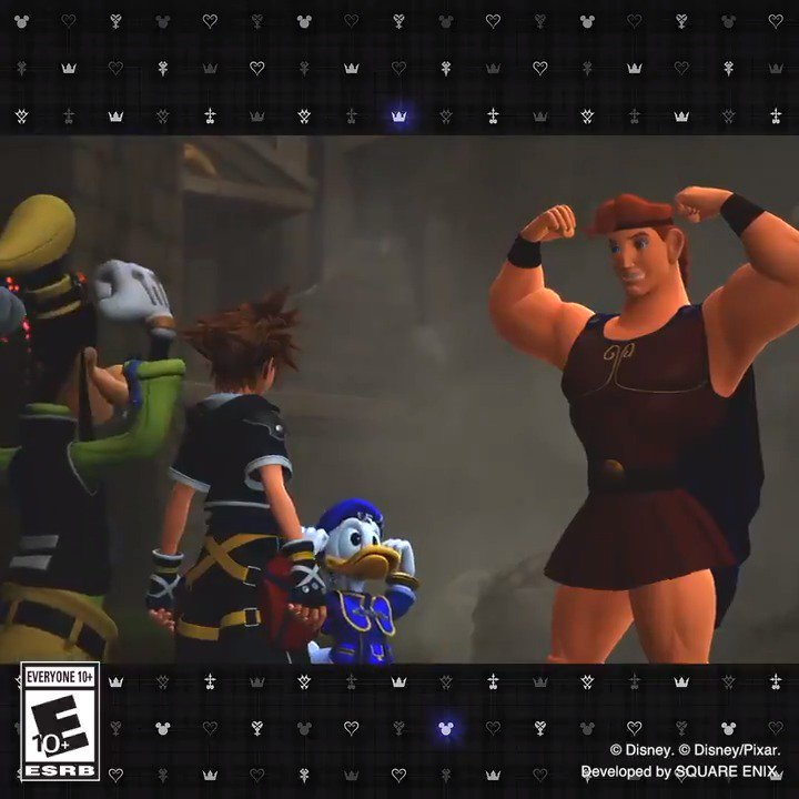 c2a93ea2ba2f We're celebrating the release of Hercules (wait for it) 22 years ago! Herc  looks pretty darn good for his age in #KingdomHearts III! https://t .co/ejPrRozH7O