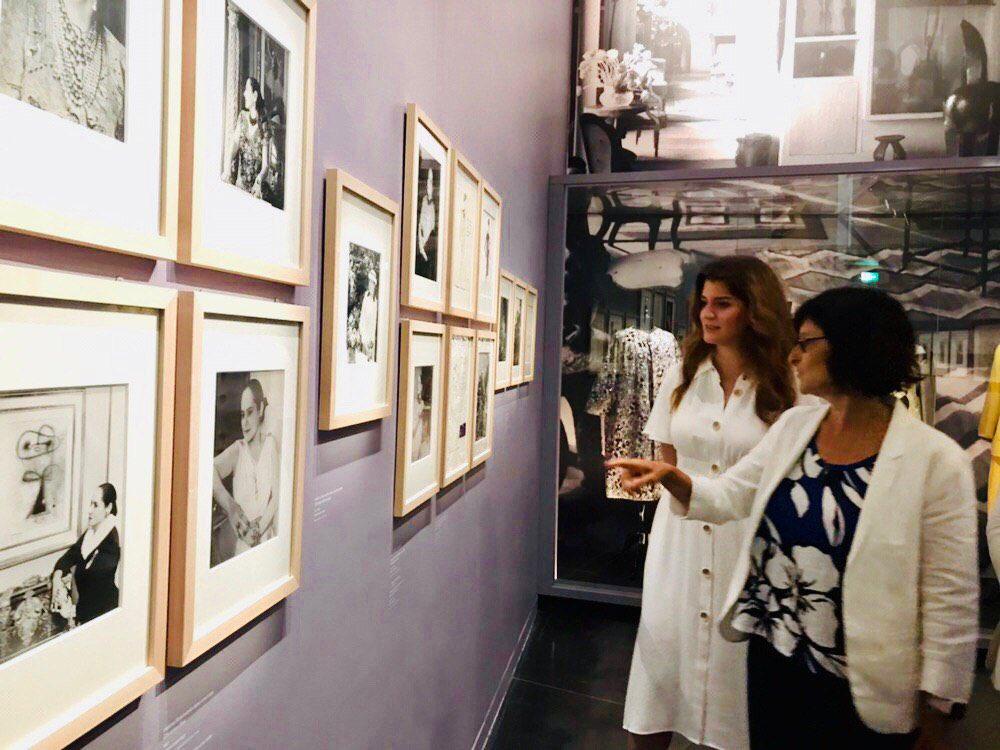 Quel plaisir de retrouver @mfit au Musée d'Art et d'Histoire du judaïsme @infosdumahj pour l'expo consacrée à #HelenaRubinstein et son «aventure de la beauté» !
