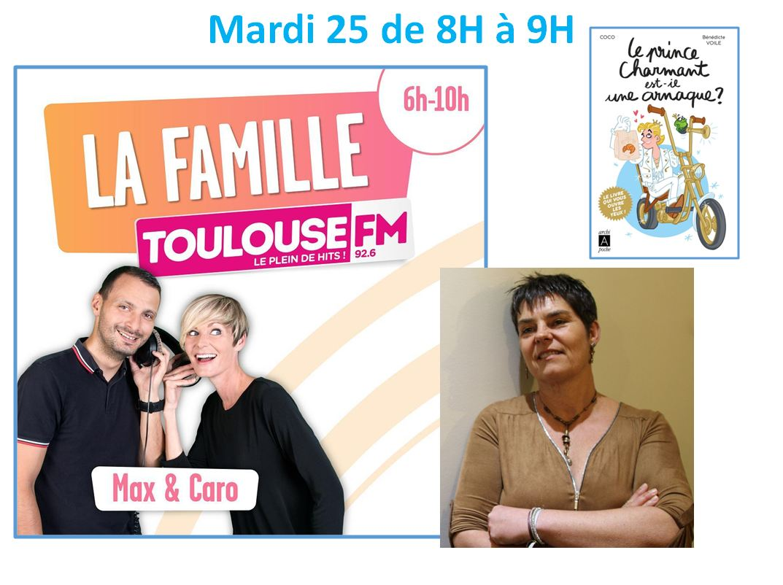 Ce mardi sur @ToulouseFM avec Max et Caro 🥰  92.6FM ou https://www.radio.fr/s/toulousefm #LePrinceCharmantEstilUneArnaque #livres #humour #amour #Book #Couple