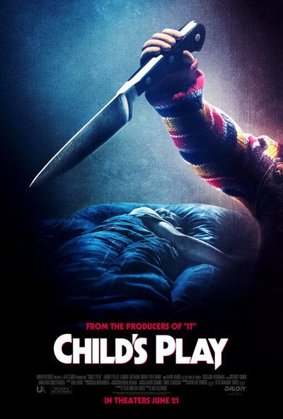 Just saw the new #ChildsPlayMovie and even though I'm ALWAYS gonna support the original franchise, I enjoyed this movie. The cast is really good, especially @HamillHimself as #Chucky. The music by @bearmccreary is VERY GOOD, he should do more film scores. Overall, fun movie 👍👍