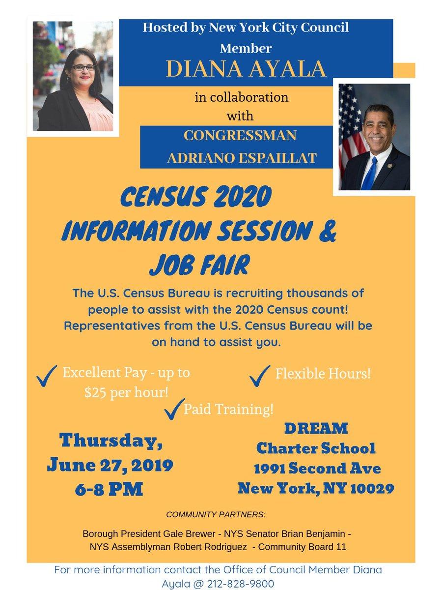 2020 Career And Resource Fair In Harlem.Union Settlement Unionsettlement Twitter