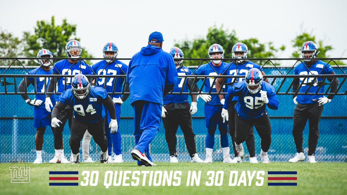 30 Questions in 30 Days kicks off today leading up to training camp.   Today's question: What's the No. 1 storyline heading into camp?  Read → https://bit.ly/2YbhdJA