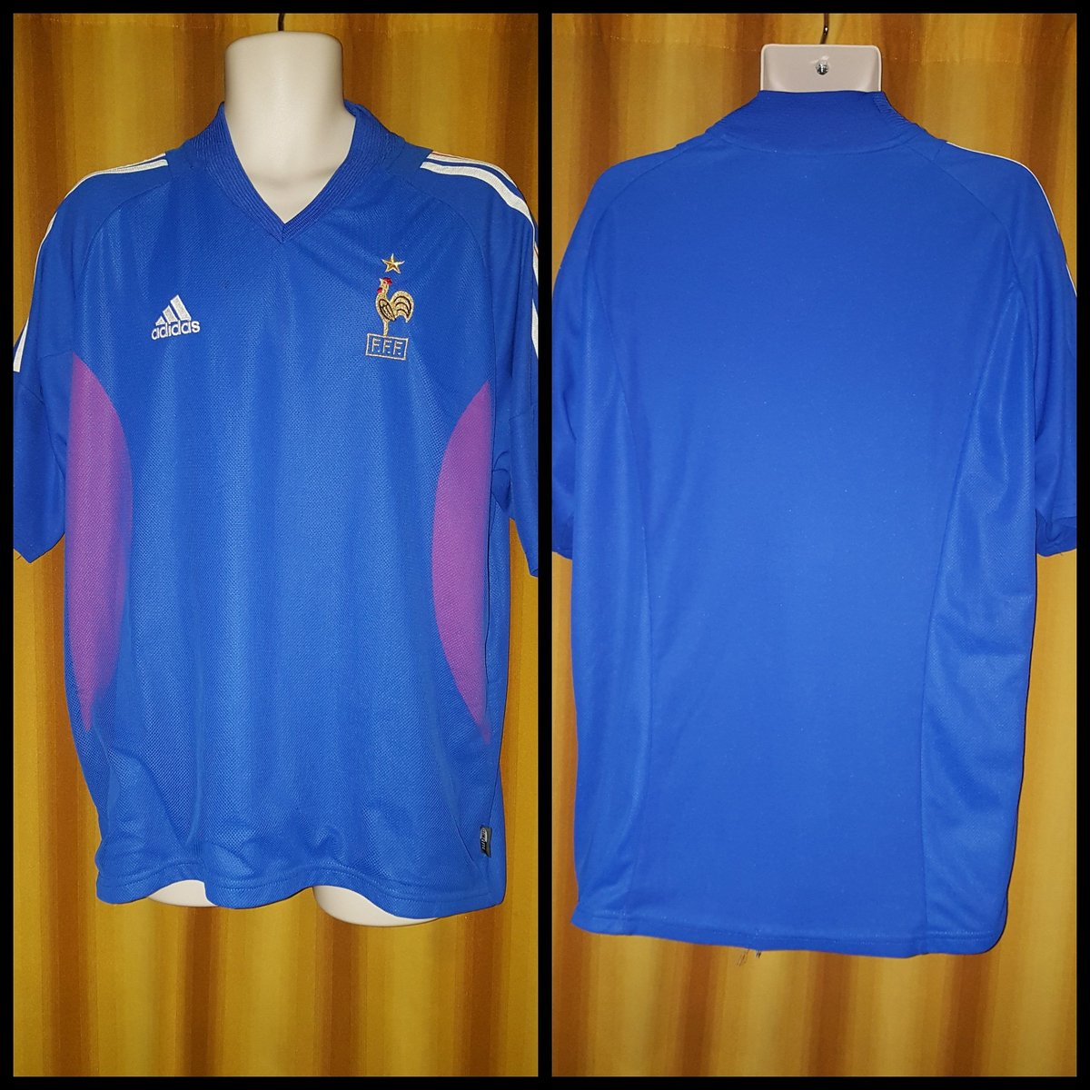 Today's shirt in focus is the:#FRA 2002-03 Home Shirt by #Adidas!
