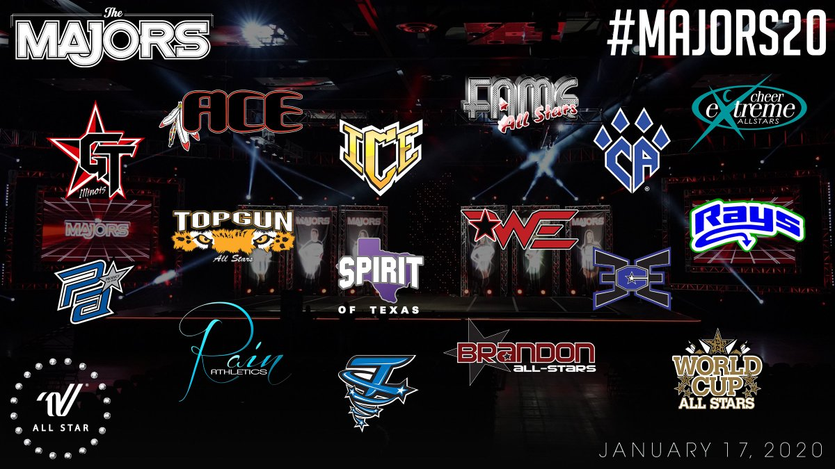 To celebrate #MAJORSMonday... Your #MAJORS20 teams represented all together for the very first time.  January sure is looking good... Wouldn't you agree?! <br>http://pic.twitter.com/0Jj6cKEbaz
