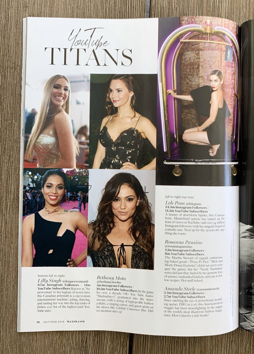 4847c654 Being 4'10'' I never thought in a million years Id be featured in Maxim.  Big dreams do come true, even if you're a little smaller than everyone ...