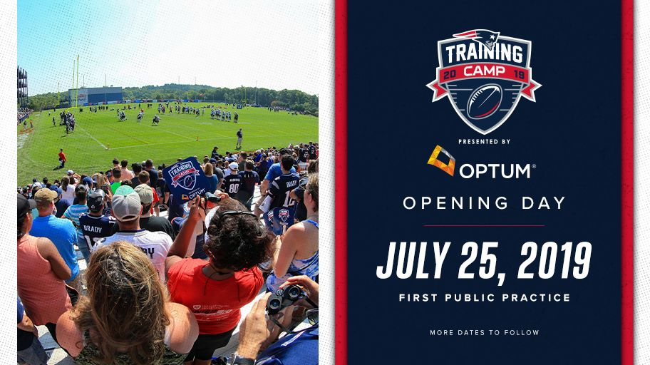 The countdown to #PatsCamp begins!  We kick things off one month from tomorrow: http://bit.ly/2xaRuVV