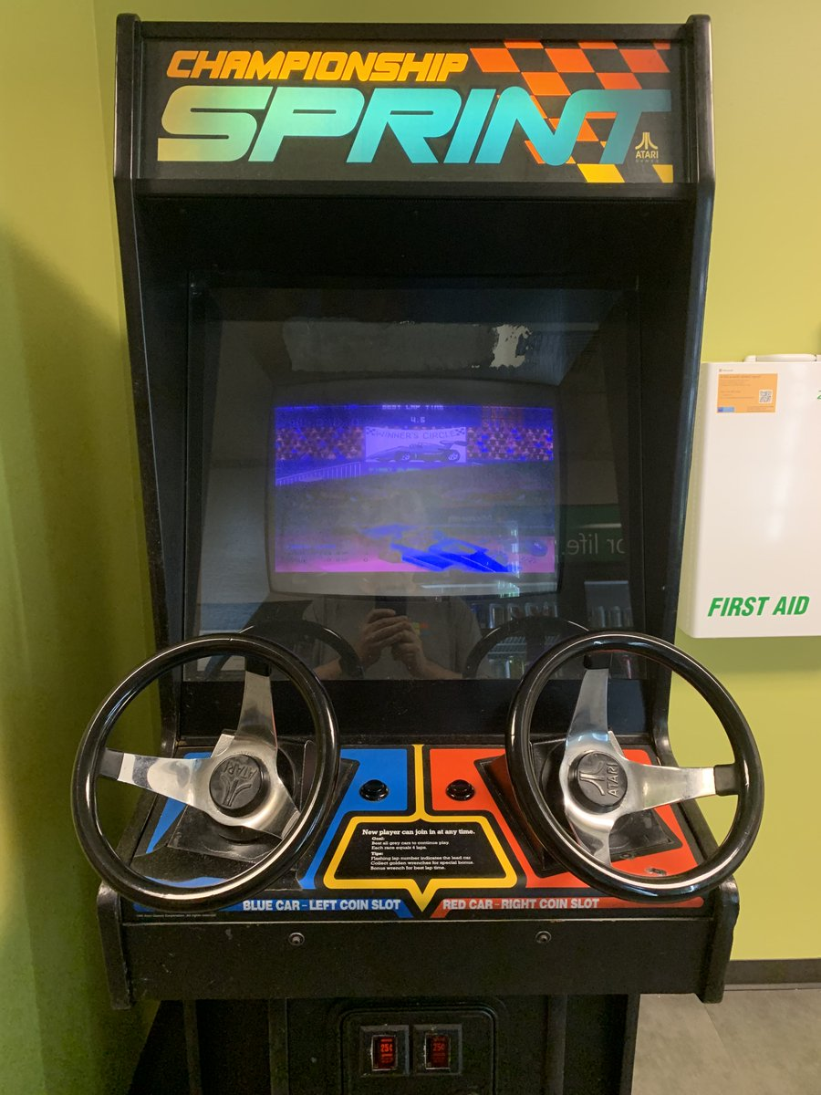 John K On Twitter I Think I Will Replace The Worn Out Crt On The Championship Sprint Game With An Lcd How Sacrilegious Is This Arcade Retrogaming Https T Co A9asfmqrwj