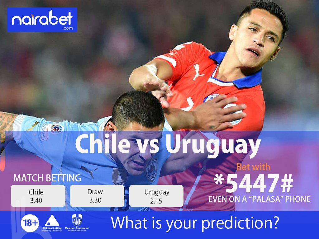 Coming Up: #CopaAmerica  Chile vs Uruguay Ecuador vs Japan  Bet here: https://t.co/UWPKGiHKSF   #NairaBetAt10 #CopaAmerica2019 https://t.co/M7KahTmBDp