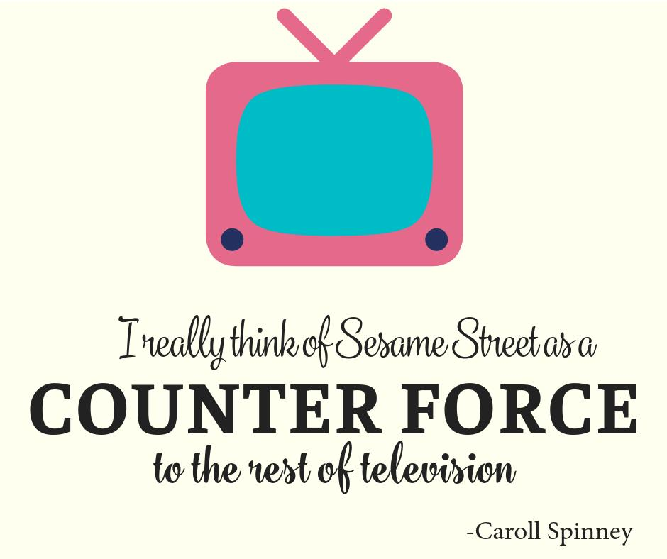 Do you agree with Caroll Spinney? Spinney was implying that sometimes with television the disadvantages outweigh the advantages. What do you think?