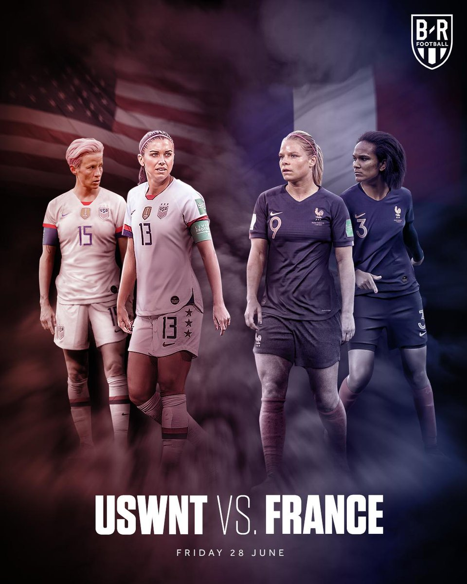 This is the match that have been waiting for to see #FRA Been knocked out of the tournament #USA can't  wait 😉😉😉