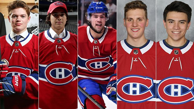 """""""The deepest, most balanced talent pool in Canada - and maybe the entire league...""""  @CraigJButton on why the @CanadiensMTL lead the way as he analyzes each Canadian #NHL team's draft results and grades each of their prospect pools this off-season.  MORE: http://tsn.ca/1.1327688"""