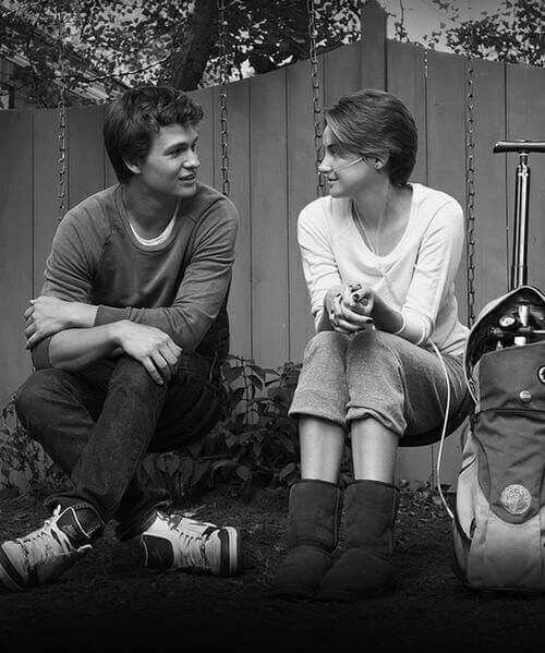 The fault in our stars. 🖤