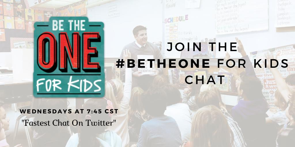 Thanks so much for joining the conversation tonight and hope to see everyone back next Wednesday. #BeTheOne