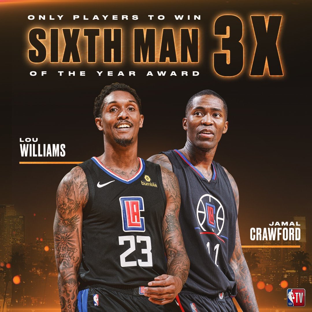 【影片】拿到手軟!魯長老第3次當選最佳第六人,追平Crawford紀錄!-籃球圈