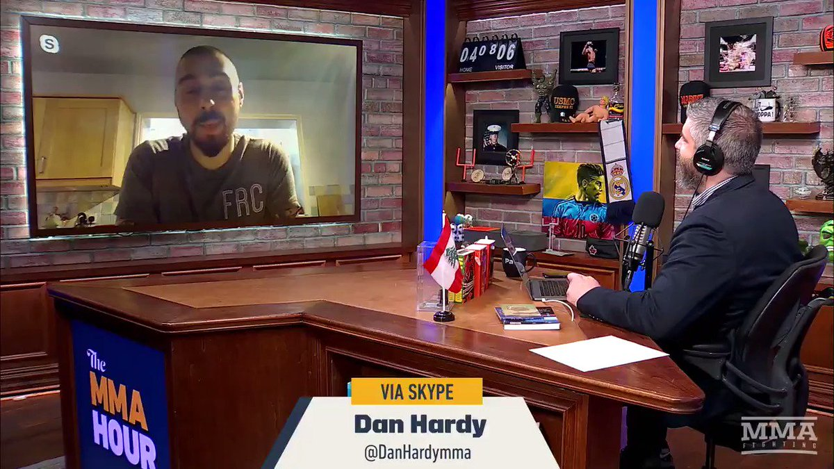 So @DanHardyMMA 'would love to fight again' and he's also got a few names in mind... 👀 👀 👀#theMMAHour  Watch full episode: https://youtu.be/jVu3o481jBg