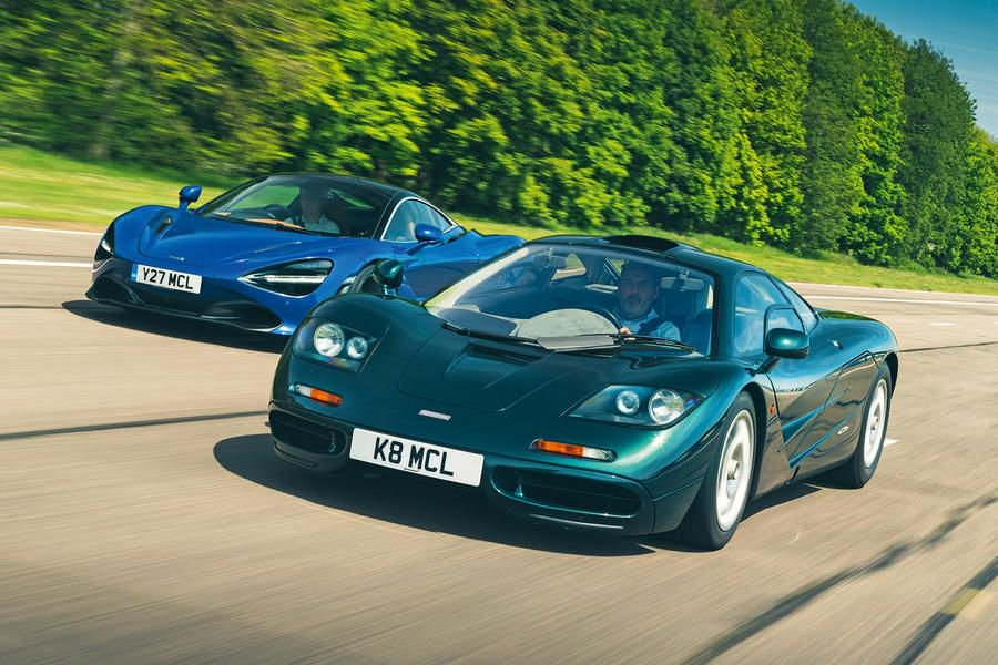 A runway meet-up with its F1 grandfather gave us the chance to see what our @McLarenAuto 720S long-termer can really do. @Andrew_Frankel compares two trips north of 200mph: https://buff.ly/2HJVCSN
