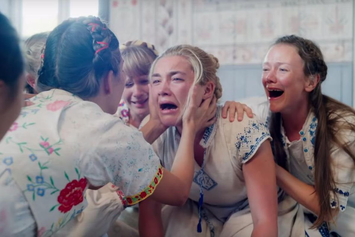 So...about #Midsommar! It's what I'd imagine a terrible acid trip would be like. It's a psychedelic, spiritual ride of the macabre held together by a good cast and visually stunning cinematography. You will leave this movie with your WTF face for sure PS: Don't drink the tea