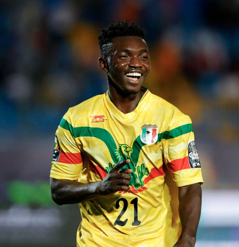 55' Adama Traore scores for Mali  61' Adama Traore subs in for Adama Traore  73' Adama Traore scores for Mali  🤯