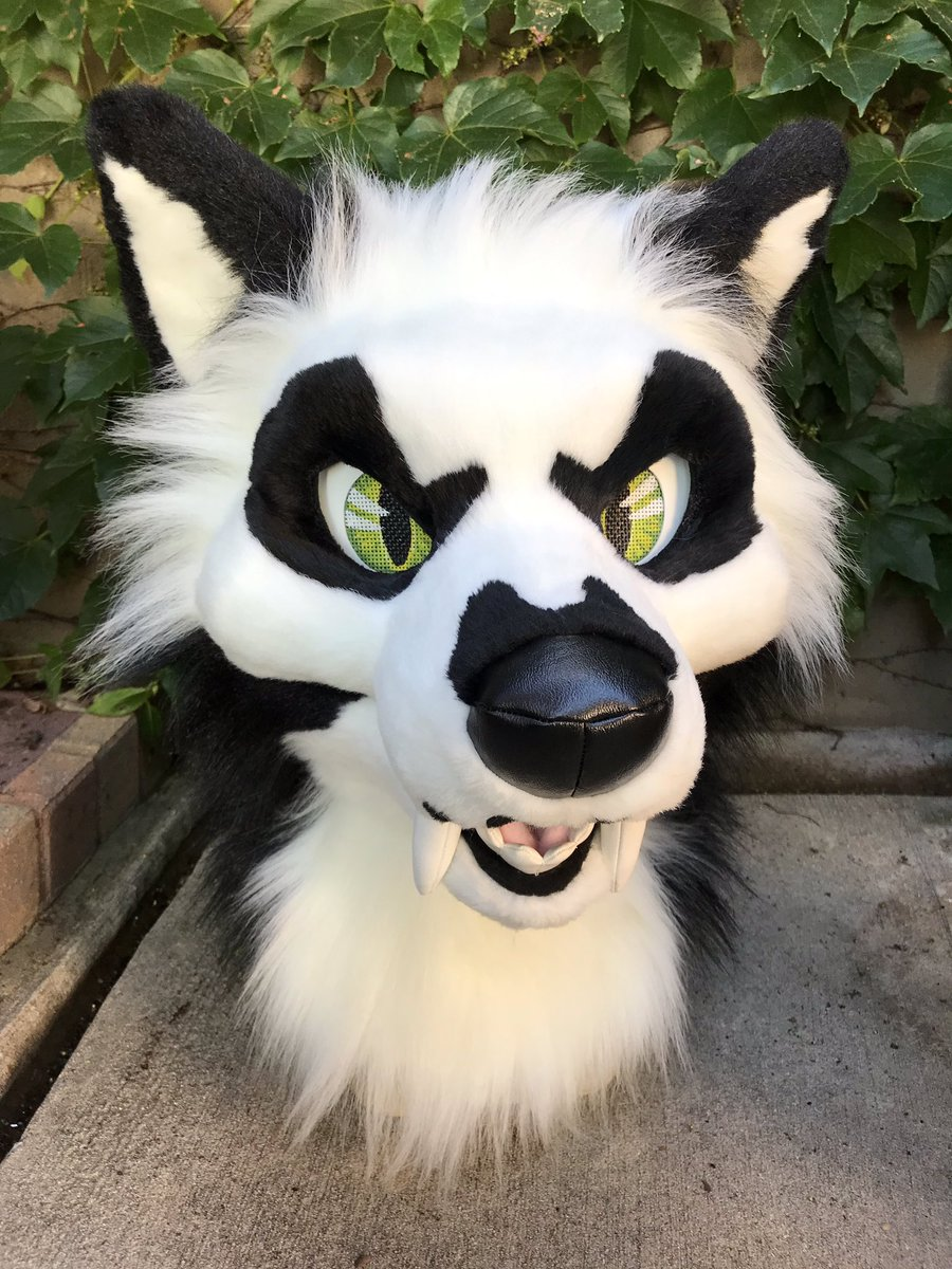 Voodoo werewolf complete!   I'm very proud in how the head came out and the direction my style has been going in   #fursuithead #fursuitmaker #furryfandom #fursuitwip #fursuiter<br>http://pic.twitter.com/2HH3Lzubsh