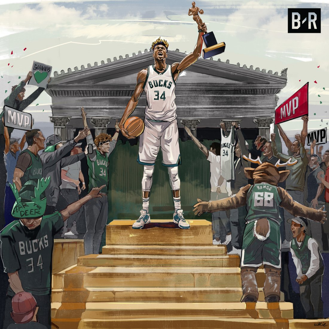 Your 2019 NBA MVP: Giannis Antetokounmpo 😤