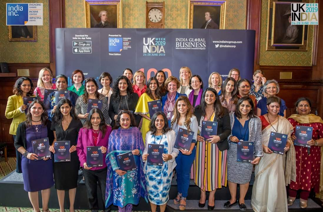 And here it is...3rd year in running. Thank you @manojladwa & @IndiaIncorp team. Shout out to the 100 ladies featured in this year's all women 100 most powerful list in the UK India corridor. <br>http://pic.twitter.com/KxvanBTrIk