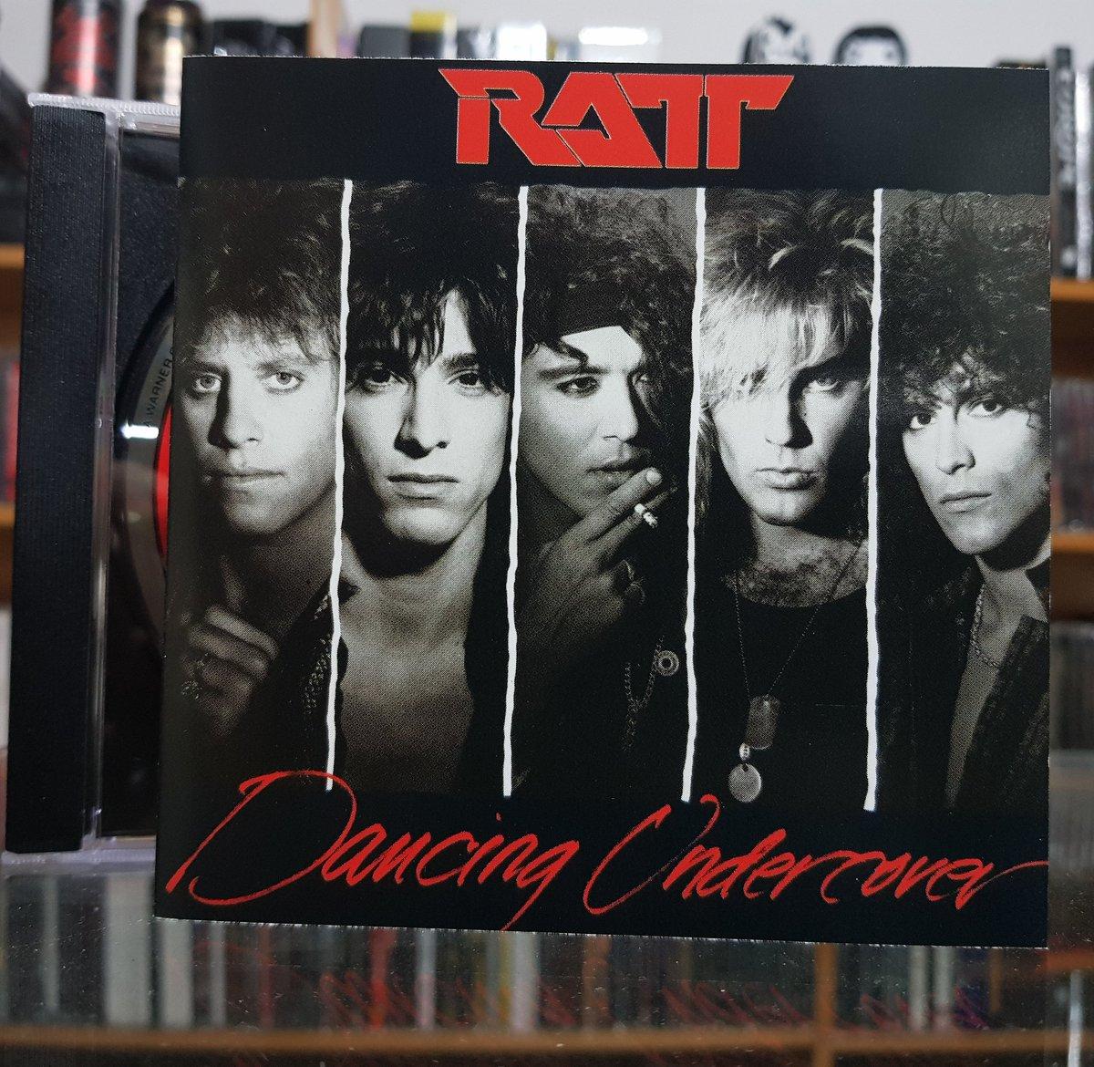 #30Days1Album3Songs Day 5 @theRATTpack  Ratt – Dancing Undercover (1986)  1. Dance 2. Slip of the Lip 3. Body Talk  #Ratt #DancingUndercover #StephenPearcy #WarrenDeMartini #RobbinCrosby #JuanCroucier #BobbyBlotzerr #RattnRoll #hardrock #hairmetal #glammetal