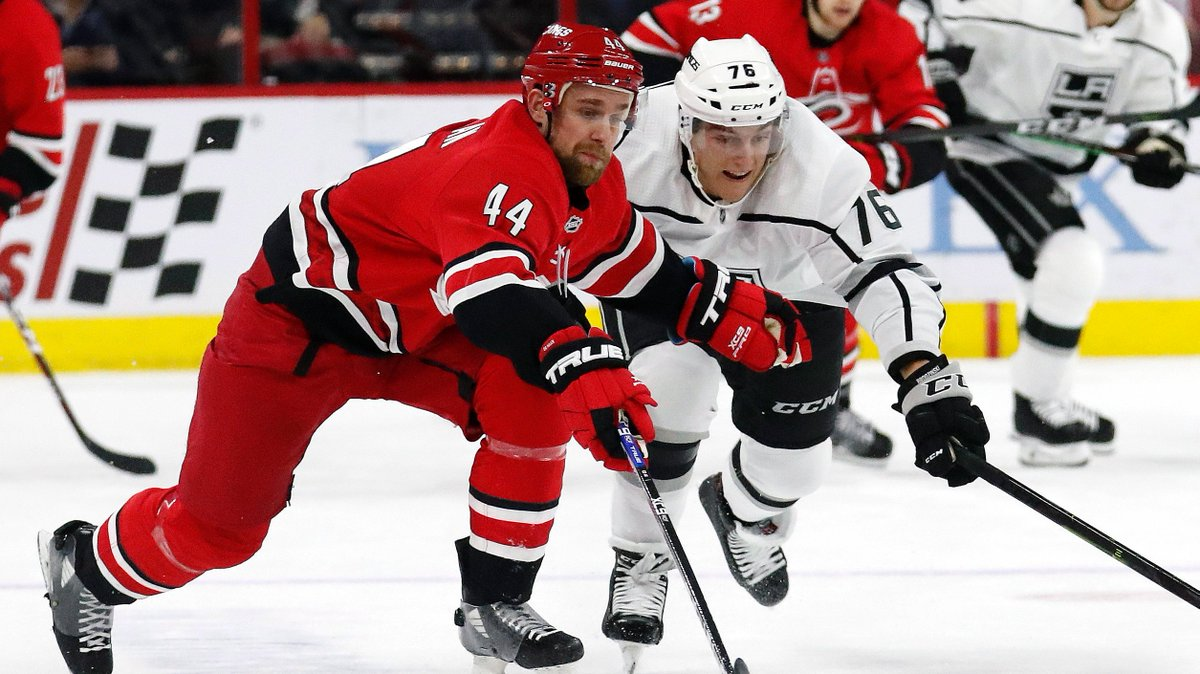 #TradeCentre ALERT: #Blackhawks acquire D Calvin de Haan and F Aleksi Saarela from #Hurricanes for G Anton Forsberg and D Gustav Forsling. #NHL #TSNHockey MORE: https://www.tsn.ca/1.1328001