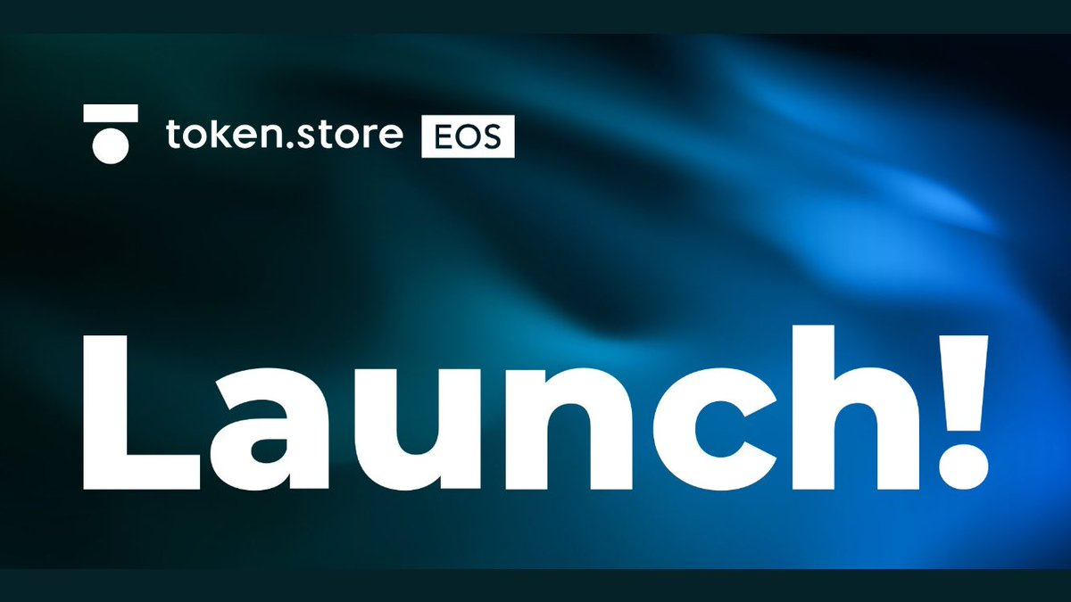 Finally, the launch! 🚀  We are proud to present to you http://token.store EOS - EOS' first fully #trustless exchange 🔑  Start trading on our #EOS #DEX here: http://token.store/eos and enjoy the limited time 0% fees!  Happy trading!