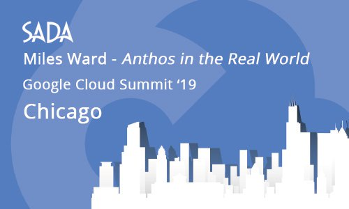 Have you registered for #CloudSummit in Chicago yet?  Make sure you get a chance to see @MilesWard's session on #Anthos in the real world! → https://hubs.ly/H0jtsjt0 #GKE #GCP #googlecloud #kubernetes #VMs #technews #multicloud #hybridcloud