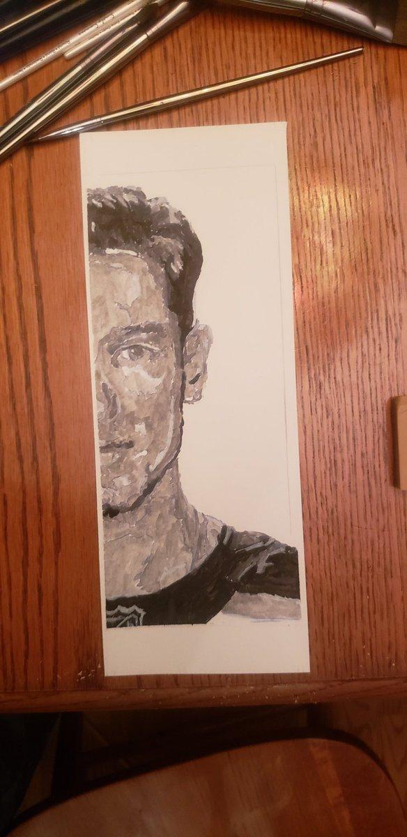 Help me get Jordan Binnington to see my portrait of him. Retweet this and maybe Ill get lucky @binnnasty #stlblues #letsgoblues #stlouis #STL #stlouisart