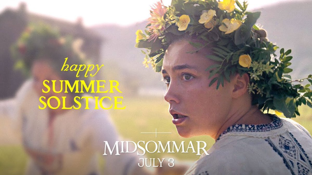 About to watch #Midsommar - I've heard good things about it so far