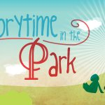 Image for the Tweet beginning: Tomorrow...it's Storytime in the Park!