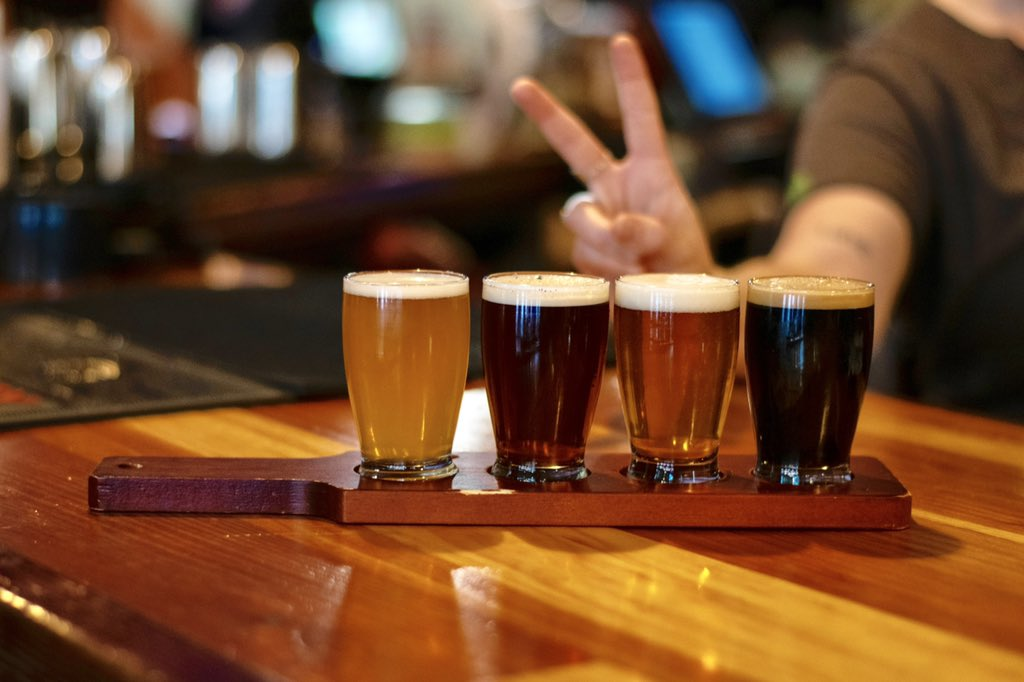 Got a case of the Mondays? Come in and grab a flight!  #littletoadcreek #silvercitynm #beerflight #nmcraftbeer