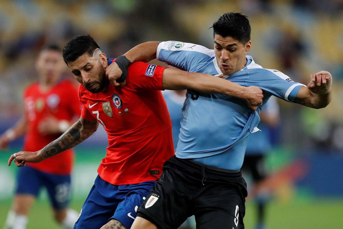 Копа Америка. Уругвай дожал Чили и избежал встречи с Колумбией в четвертьфинале - изображение 1